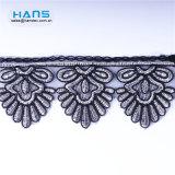 Hans Amazon Top Seller Eco-Friendly Austrian Embroidery Designs Flower Lace