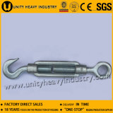 with Hook, Plates, Stub Ends DIN 1480 Forged Turnbuckle