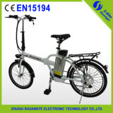 2015 China Popular 20 Inch Lithium Baterry Folding Bike