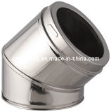 CE stove chimney pipe - Elbow