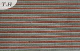 Strip Chenille Polyester Fabric Textile Sofa Fabric (fth31965)