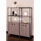 2017 New Design Adjustable Wine Storage Steel-Wooden Furniture