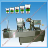 Plastic Cup Filling / Paper Cup Sealing Machinery