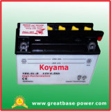 Flooded Lead Acid Battery for Motorcycle Battery -Yb6.5L-B-12V6.5ah