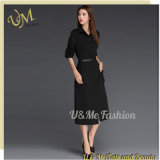 Fashion High Quality Long Sleeve Slim Women Dress