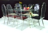Acrylic LED Wedding Chair (CY906)