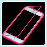 Touch Clear Flip Cover with TPU Back Case for iPhone 6
