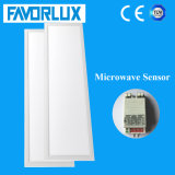 100lm/W Microwave Sensor LED Panel Light 295*1195