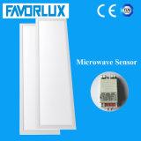 120lm/W Microwave Sensor LED Panel Light 295*1195