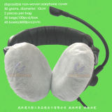 Dust-Proof Sanitary Non-Woven/SMS Earpiece/Stethoscope/Microphone/Disposable PP Headphone Cover, Disposable PP Earphone Cover, Disposable PP Headset Cover