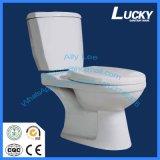 Economic Water Closet Wash Down Two Piece Ceramic Toilet