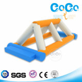 Coco Water Inflatable Hot Sale Triangle Bridge in Stock (LG8085)