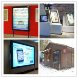 OEM Outdoor Advertising Bus Stop Scrolling Light Box with SGS Certification