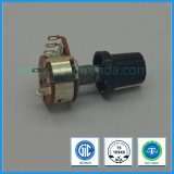 16mm Rotary Potentiometer with Switch for Audio Equipment
