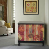 Abstract 2 Dr Color Cabinet /Console Table (RL01304-0811AB)