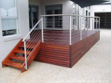Side Mount Stainless Steel Decking Cable Railing/Balustrade for Balcony