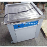 Single Square Pan Roll Fry Ice Cream Machine