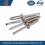 Open End Blind Rivets with Break Pull Mandrel and Round Head