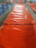 China Plastic Orange Tarpaulin Cover, PE Tarp Roll