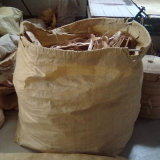 Korea PP Bulk Bag for Packing Garbage with String Yellow Color PP Bag