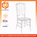 Polycarbonate Resin Transparent Royal Chair in Clear