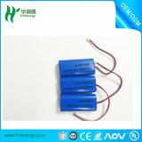 7.4V 2500mAh 18650 Cylindrical Li Ion Battery Pack