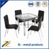 1+4 Glass Dining Room Furniture Modern Furniture