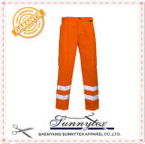 Custom Cotton Reflective High Visibility Durability Workwear Pants