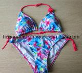 Lovely Blue Swimwear Two Piece Kids Bikini for Girls, Children Wear