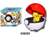 Promotion Gift Plastic Toys Lovely Elf Toys Set Game Toys (039255)