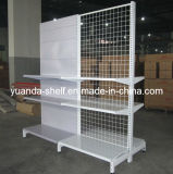 Steel Supermarket Shop Store Goods Display Wire Mesh Shelf
