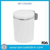 Funtional Cylinder Ceramic Portable Ashtray Wholesale