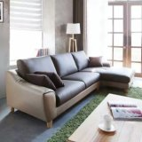 Nordic Style Small Leather Sofa