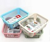 Square PP Drain Basket for Household