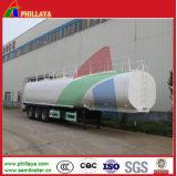 38000liters Semi Trailer Asphalt Tank with Heating