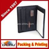 Genuine Leather Portfolio Writing Pad Business Case for Left & Right Handed Use (520090)