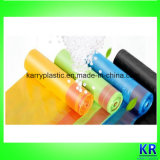 Plastic Carrier Bags HDPE Garbage Bag with Drawtape