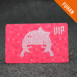 Wholesale Nice Design Pink and Cute Printed PVC ID Card