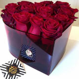 Fashion New Style Valentine′s Day Gift Acrylic Flower Box