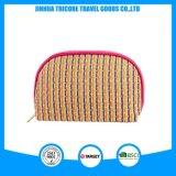 New Design Custom Women Knit PU Cosmetic Makeup Bag for Lady