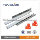Galvanized Steel Push to Open Undermount Drawer Slide