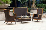 Patio Wicker Sofa Set / Outdoor Garden Rattan Stackable Sofa Set (BZ-SF088)