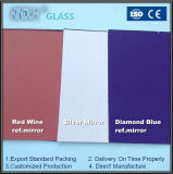 Colored Reflective Mirror for Decoration and Bathroom Usages