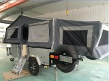 Double Folded up Camper Trailer