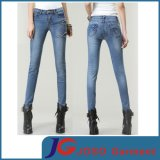 Lady Skinny Joint Pocket Boot -Fit Trousers Lady Pants (JC1337)