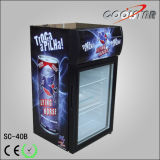 Countertop Single Glsaa Refrigerating Showcase (SC-40B)