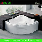 New Acrylic Corner Double Whirlpool Bathtub (TL-302)