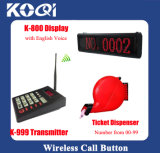 Safe Delivery Top Popular Tickets Dispenser Order Take Electronic System