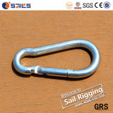 Commercial Type Zinc Plated Snap Hooks with Screw