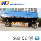 Wholesale 20t Heavy Duty Tipping Farm Trailer for Sale with Painting